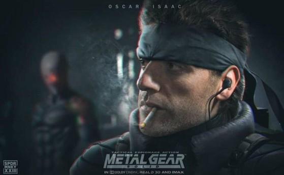 Oscar Isaac será Solid Snake en la película de Metal Gear
