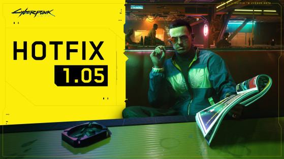 Cyberpunk ya tiene actualización 1.05. Notas completas del parche y todos los cambios para PS4 y One