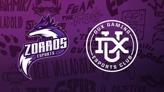 Pucela Zorros, el equipo de esports del Real Valladolid apunta al título en unión con DUX Gaming