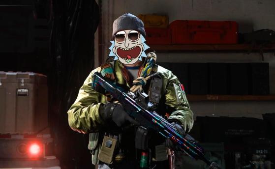 Warzone: Con este operador puedes jugar como el personaje más loco de Rick y Morty al Battle Royale