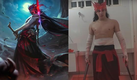 LoL: De cosplay barato de Yone a cinemática espectacular, el trabajo de un artista autodidacta