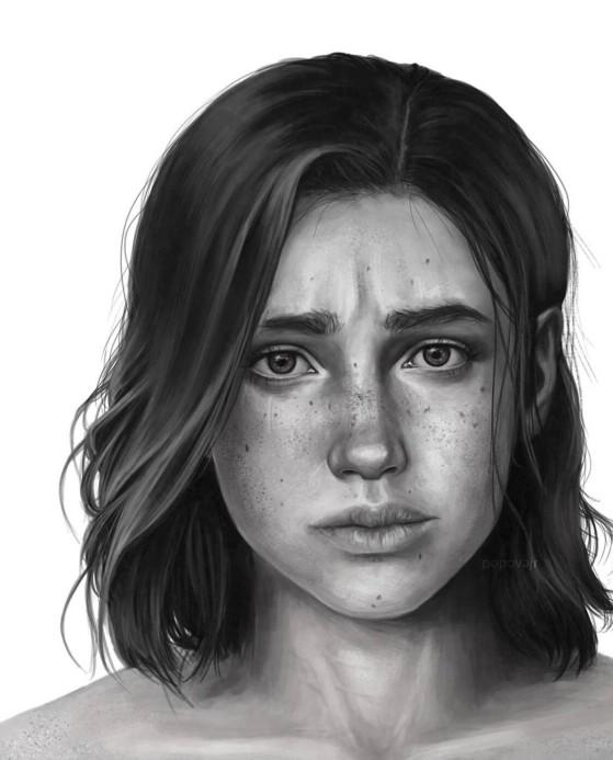 Obra del usuario popovajr_art (Instagram). - The Last of Us 2