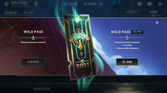 Tenemos disponibles tres formatos de Wild Pass - Wild Rift