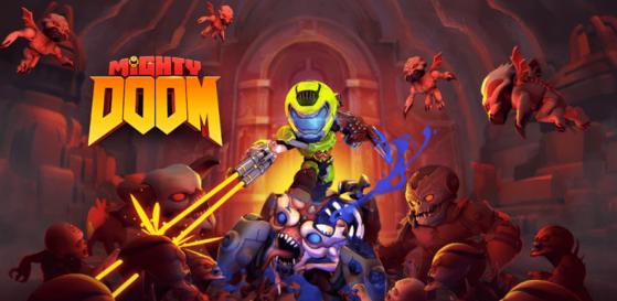 Mighty Doom, la aventura del Slayer para móviles que preparan Bethesda y Alpha Dog
