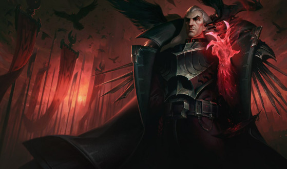 LoL: Un Swain infinito rompe League of Legends y se tanquea hasta la fuente rival