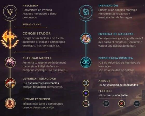 Precisión + Inspiración - League of Legends