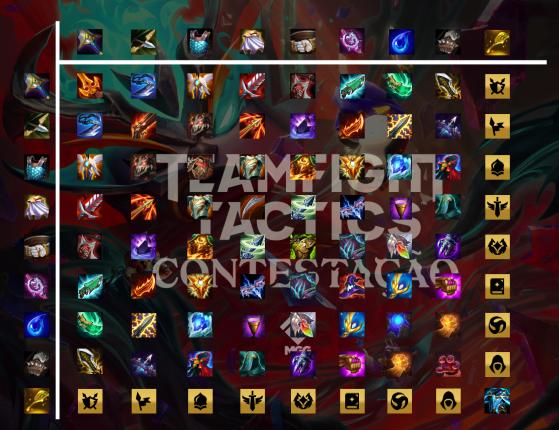 Los objetos se componen con las herramientas de siempre - TFT: Teamfight Tactics