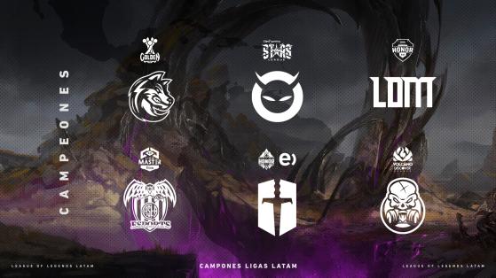 LVP Latinoamérica: Estos fueron los seis campeones del Apertura 2021