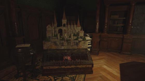 Resident Evil Village: El Laberinto del castillo Dimitrescu, cómo completarlo y posición de la bola