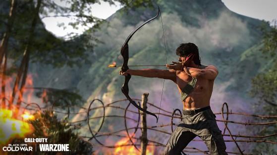 Warzone: Cómo conseguir el Arco de Combate de Rambo en el battle royale