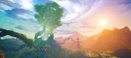 El árbol de la vida que debe ser salvado o destruido - Biomutant