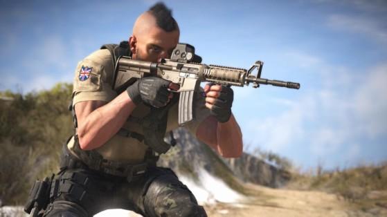 Warzone: Soap aparece en el multijugador de Modern Warfare. ¡Y con camos de armas de Cold War!