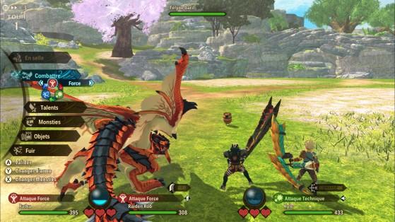 Antes de la explosión - Monster Hunter Stories 2: Wings of Ruin