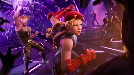 Pantalla de carga de Street Fighter Round 2 en Fortnite - Fortnite : Battle royale