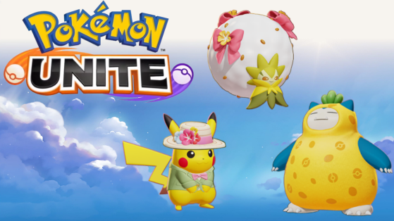 Pokémon Unite: nuevas skins Holowear para Pikachu, Eldegoss y Snorlax