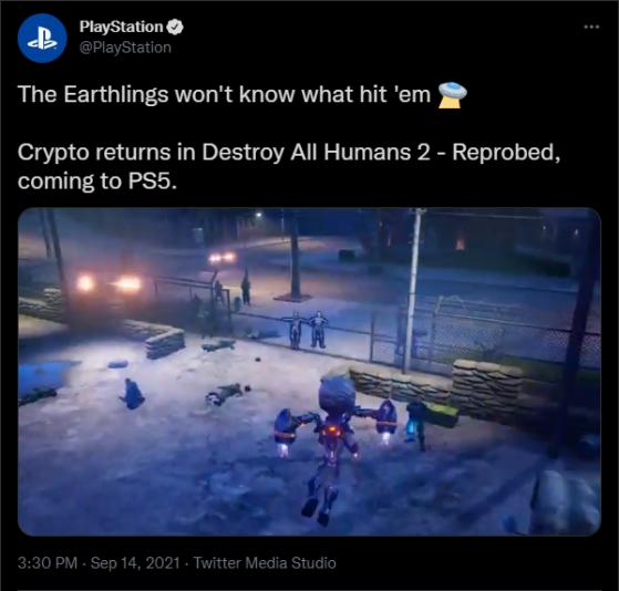 El famoso tweet que desde entonces ha sido eliminado. - Millenium