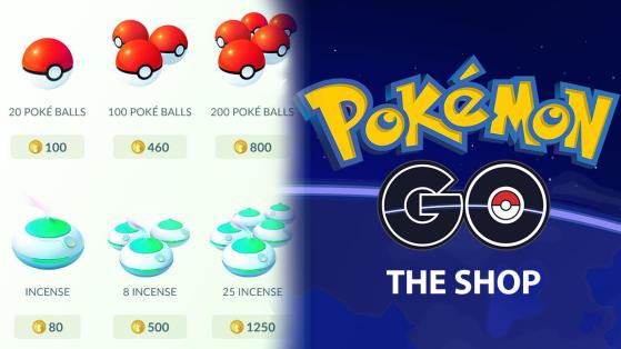 La tienda en Pokémon GO