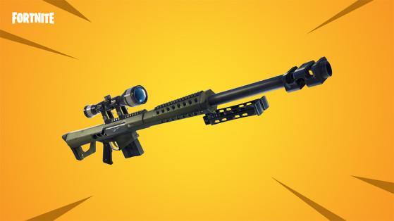 Fortnite: El rifle de francotirador pesado está de regreso en el Festival de Invierno