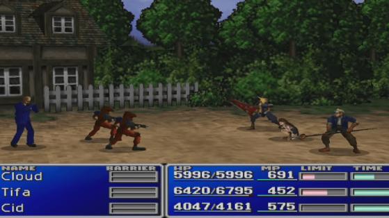 Versión 1997 - Final Fantasy 7 Remake