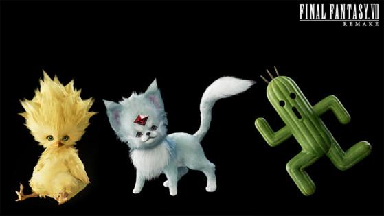 Final Fantasy 7 Remake: Las invocaciones de Chocobo, Cactilio y Rubí en acción