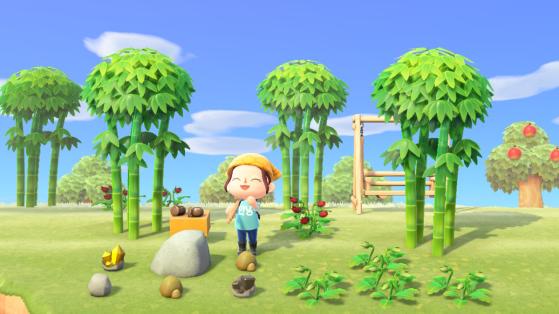 Animal Crossing New Horizons: dónde encontrar hierro, oro, arcilla y piedras.