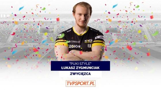 LoL: Puki Style, el profesional que se hizo viral en Twitter, es votado como mejor deportista polaco