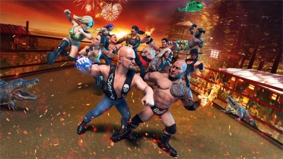 WWE 2K Battlegrounds aterrizará también en Switch en septiembre