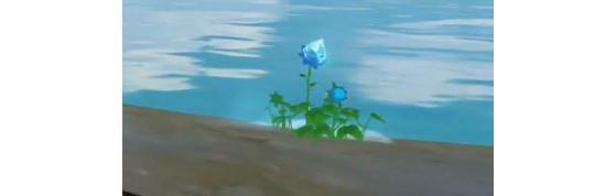 Una flor brumosa, aquí al suroeste de Hauts du Mornevent. - Genshin Impact