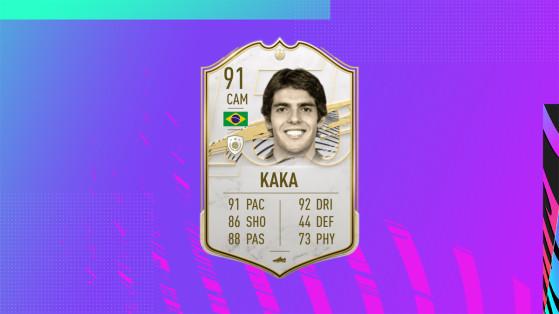 FIFA 21: Solución al desafío Kaká Prime, Icono de FUT