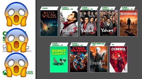 Xbox Game Pass se pasa a la Yakuza, y a montones de juegazos, en enero