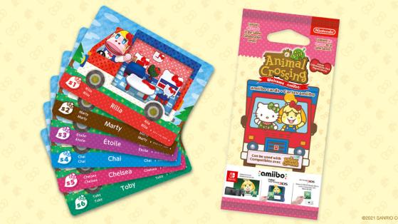 ¡Vuelven las tarjetas Amiibo de Sanrio a Animal Crossing New Horizons!