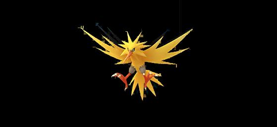 Zapdos shiny - Pokémon GO