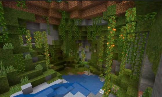 Minecraft: Caves and Cliffs, la enorme expansión prometida, se dividirá en dos con retraso incluida
