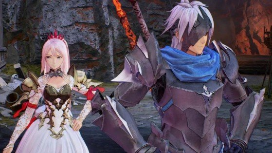 Alhpen y Shionne, los dos protagonistas de Tales of Arise - Tales of Arise