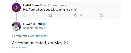 Supercell ha confirmado el lanzamiento de Squeak el 21 de mayo - Brawl Stars