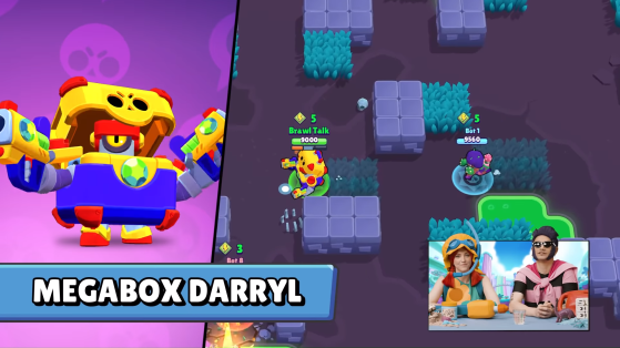 Megabox Darryl - Brawl Stars