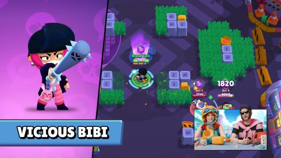 Vicious Bibi - Brawl Stars