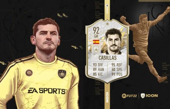FIFA 22 da la bienvenida a tres nuevos Iconos, entre los que está Iker Casillas