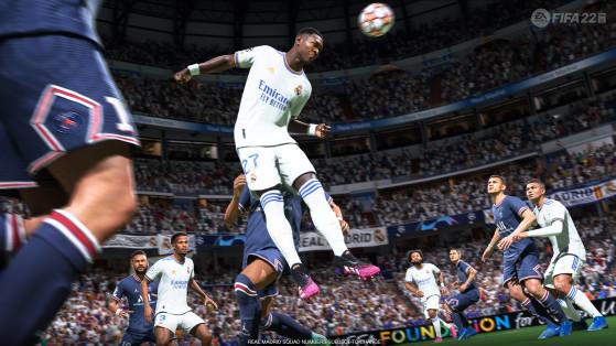 FIFA 22: Media de los futbolistas del Real Madrid, con Casemiro y Benzema liderando al club blanco