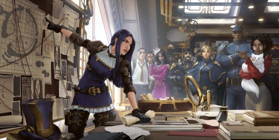 Caitlyn en Legends of Runeterra. - League of Legends