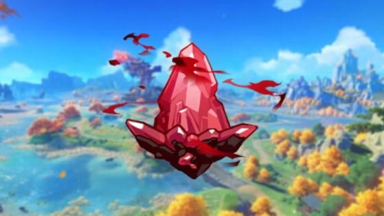 Genshin Impact - Ágata escarlata: Donde encontrarla y para qué sirve
