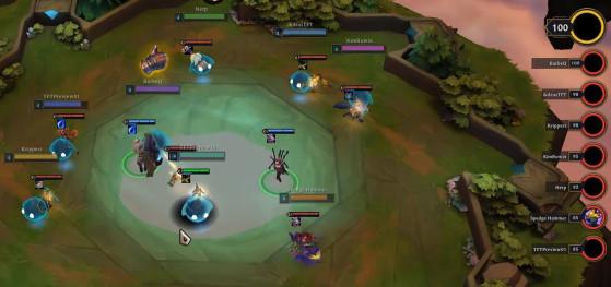 Cuando la fase acaba, todas las minileyendas tienen un campeón - TFT: Teamfight Tactics