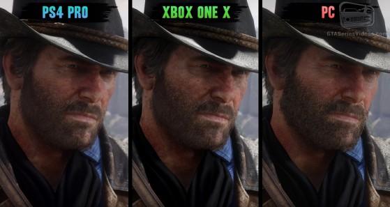 Comparación gráfica entre las versiones de consolas y PC de Red Dead Redemption 2