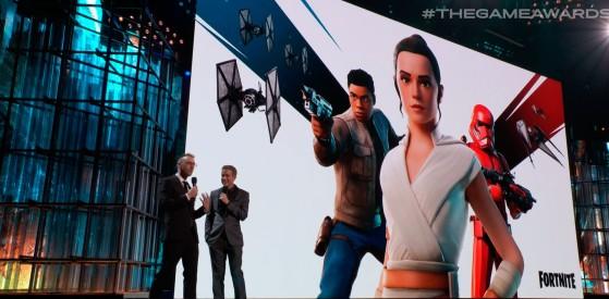 Fortnite lanza nuevas skins y cosméticos de Star Wars durante los TGA 2019