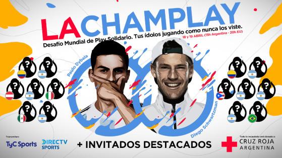 FIFA 20: Agüero, Dybala, James Rodríguez y otros grandes deportistas en un torneo solidario de LVP