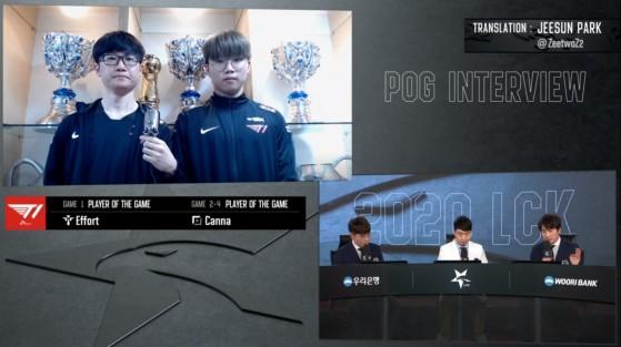 LoL - LCK: Faker y Canna llevan a T1 a la final de Corea