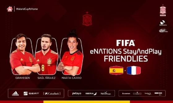 FIFA 20: Saúl Ñiguez, Marta Carro y Gravesen, estrellas del España-Francia