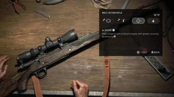 No olvides actualizar tus armas en los bancos de trabajo. - The Last of Us 2