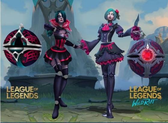 Las diferencias entre las skins de Wild Rift y el LoL de PC, una las más criticadas. - League of Legends
