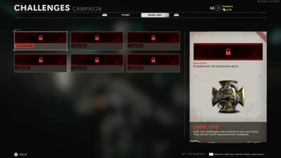 Desafíos de la campaña. - Call of Duty: Black Ops Cold War